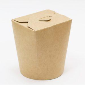 Papirnata posuda za WOK 500 ml kraft (30 kom/pak)