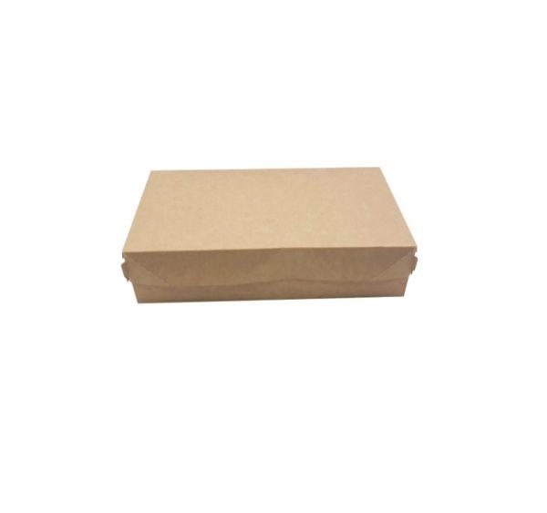 Posuda za torte, desert ECO CAKE 230х140х60 mm, 1900 ml, kraft (300 kom/pak)