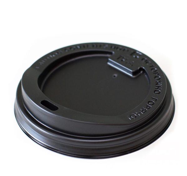 Poklopac s rupom PS d=90 mm crni (100 kom/pak)