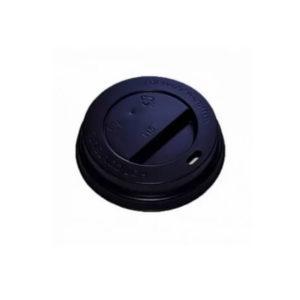Poklopac s rupom PS d=62 mm crni (100 kom/pak)