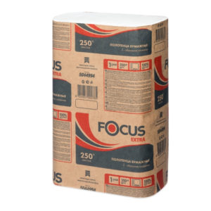 Papirnati ručnici Z 1 sl 250 l/pak Focus bijele (5044994)
