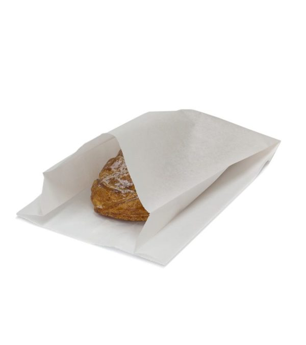 Papirnata vrećica 170x70x250 mm bijela (2000 kom/pak)