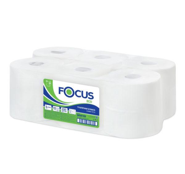 Toaletni papir 2 sl Focus Optimum bijeli 4 rok/pak (5036770)