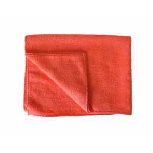 Krpa od mikrofibre za pod 50×80 cm crvena