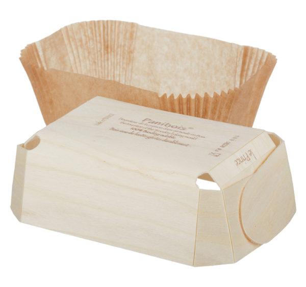 Drvena posuda za pečenje PRINCE 140x95x50 mm (240 kom/pak)
