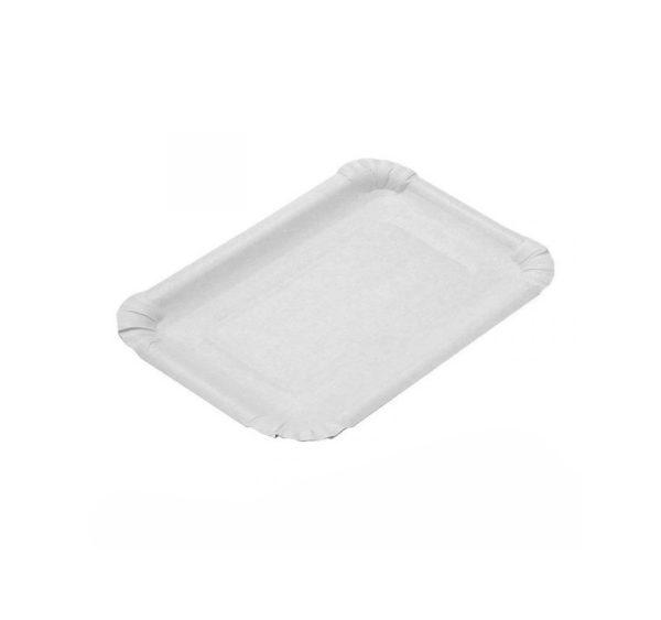 Papirnati tanjur 110×170 mm bijela, glaziran (2400 kom/pak)