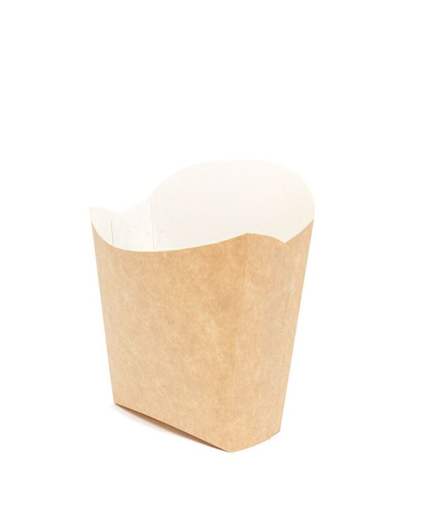 Kutija za pomfrit Fry Pack 115х45х123 mm kraft (50 kom/pak)