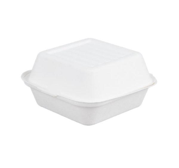 Kutija za humburger PULP Tambien ECO 150x150x78 mm bijela (125 kom/pak)