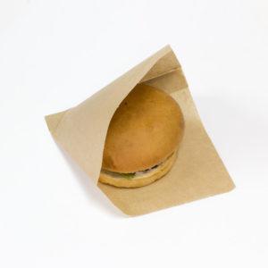 Vrećica za hamburgere SANDWICH BAG M 140×145 mm