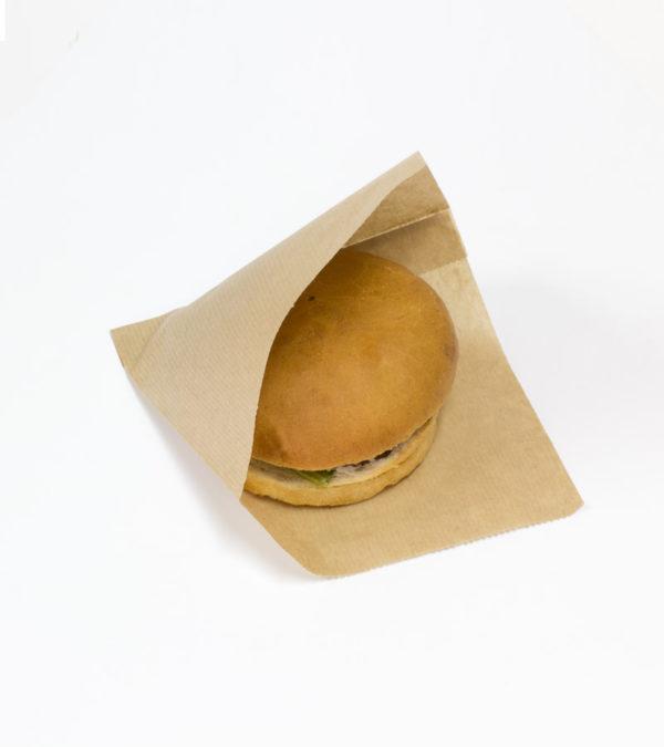 Vrećica za hamburgere SANDWICH BAG M 140x145x30 mm