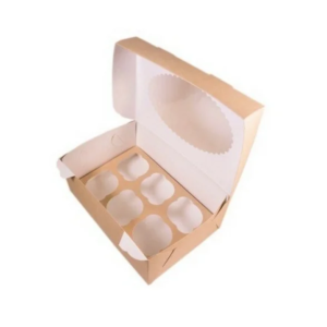 Kutija za muffine sa prozorom ECO MUF 250x170x100 mm (150 kom/pak)