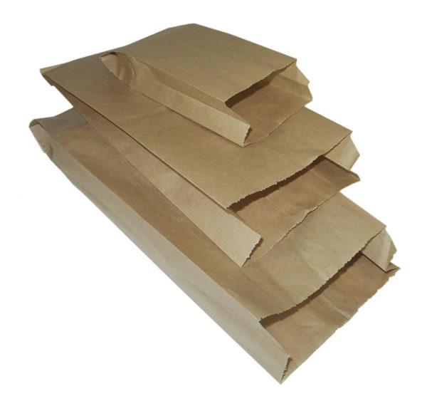 Papirnata vrećica 140 x 60 x 370 mm kraft (2000 kom/pak)