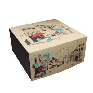 Kutija za tortu (dno) 300х300 mm 2 kg Rendezvous (100 kom/pak)