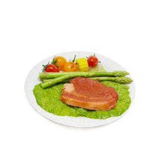 Papirnati tanjur d = 180 mm Snack Plate, beli biolaminiran (100 kom/pak)