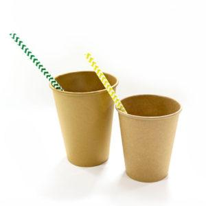 Čaša papirnata 1sl 300 (364) ml d = 90 mm Kraft / Kraft (50 kom/pak)