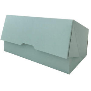 Kutija za desert 200x110x70mm, tirkizna