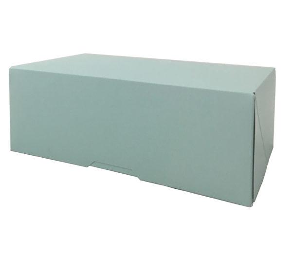 Kutija za desert 200x110x70 mm tirkizna (150 kom/pak)