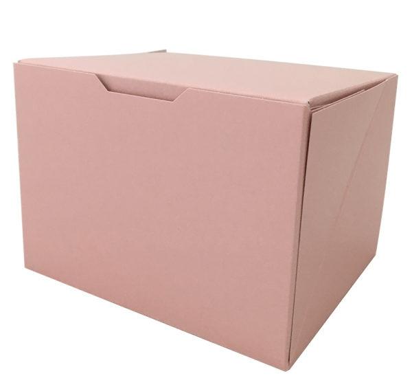 Kutija za desert 140x120x100 mm ružičasta (150 kom/pak)