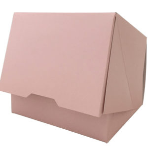 Kutija za desert 140x120x100mm, ružičasta