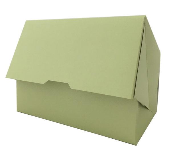 Kutija za desert 200x120x100 mm metvica (100 kom/pak)