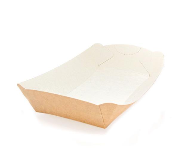 Pladenj papirnat za brzu hranu Handy Tray 220х127х40mm kraft