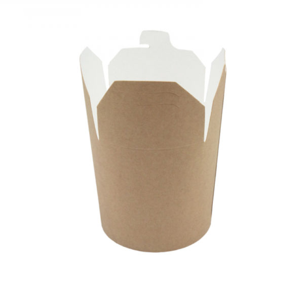 Papirnata posuda za WOK 750 ml kraft (50 kom/pak)