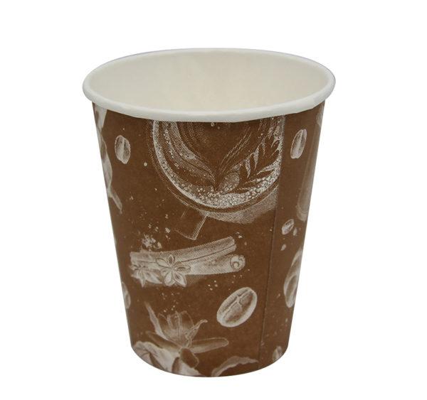 "Čaša 250 ml papirnata d=80 mm  ""Barista"" Cappuccino (50 kom/pak)"