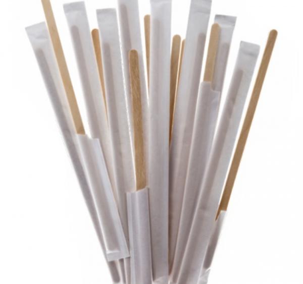 Štap za miješanje od bambusa 17,8 cm pojedinacno pakiranje 250 kom/pak