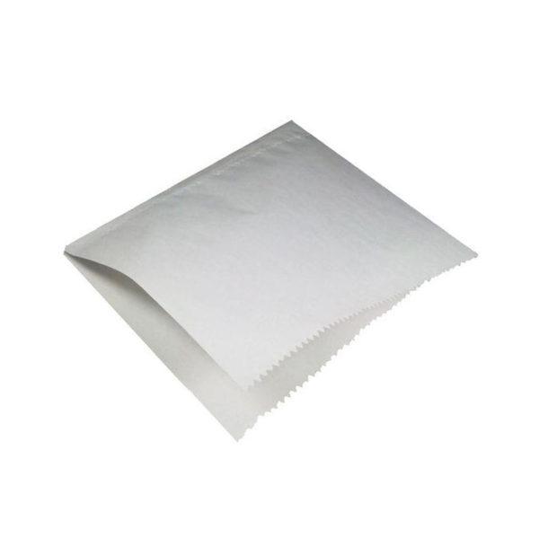 Vrećica za hamburgere 175×175 mm bijela
