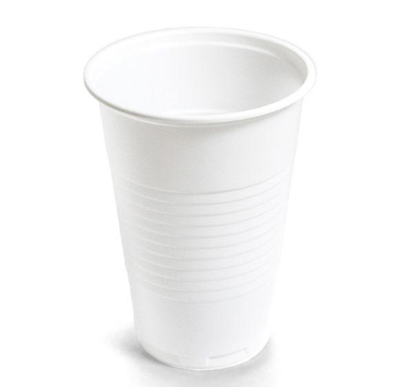 Čaša PP 200 ml bjela (100 kom/pak)