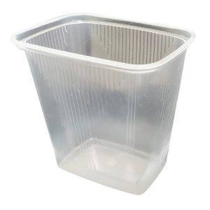 Posuda PP 500 ml 108x82x104 mm prozirna (50 kom/pak)