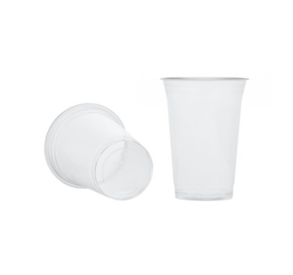 Čaša PET 400 ml d=95 mm prozirna (50 kom/pak)