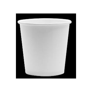 Čaša papirnata 100 ml d=62 mm 1-slojni bijela (100 kom/pak)