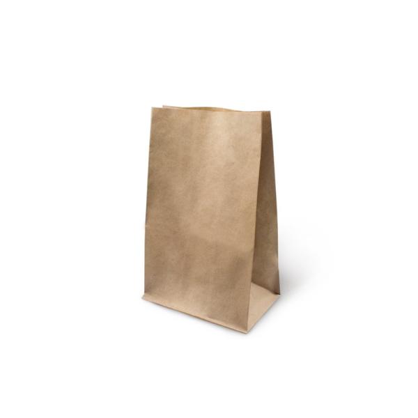 Papirnata vrećica 180x120x290 mm kraft (1000 kom/pak)