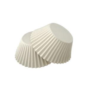 Papirni kalupi d=55mm h=42,5mm bijeli (1000 kom/pak)