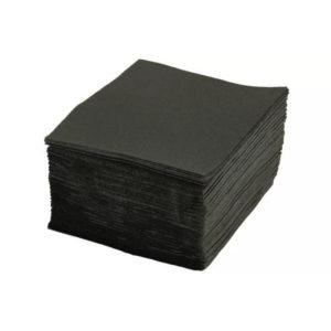 Papirnate salvene 1 sl 24×24 cm TaMbien crni 400 kos/pak