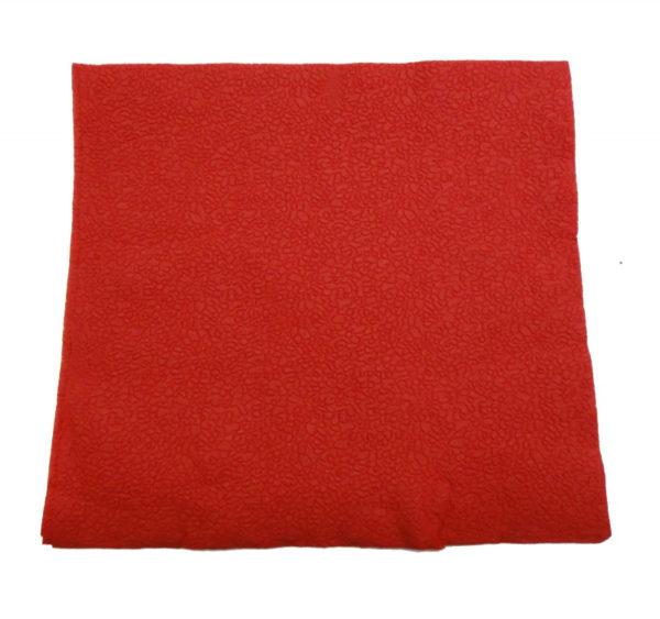 Papirnate salvete 2 sl 24×24 cm Tambien crvene 250 kom/pak