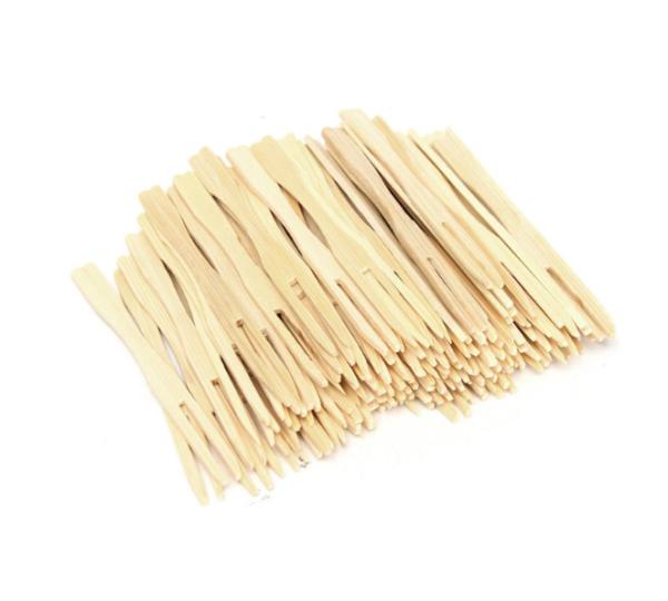 Pikalica od bambusa 9cm Vilica 100kom/pak