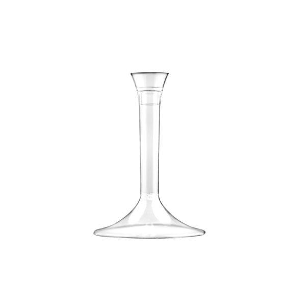 Čaša za vino 120 ml PS Flute prozirna, 20 kom (komplet)