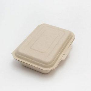 Kutija PULP Tambien ECO 600 ml 185х130х40 mm bijela (50 kom/pak)