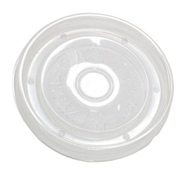 Papirnata posuda za juhu 300 ml d=90 mm h=85 mm bijela za poklopcem, 50 kom (komplet)