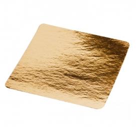 Podmetač za torte karton 210×210 mm zlatna