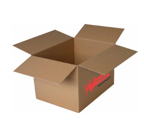 Transportne kartonske kutije 500x330x330 mm z logo TM