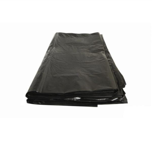 Vreća za smeće LDPE 200 L crna 80 µm (50 kom/pak)
