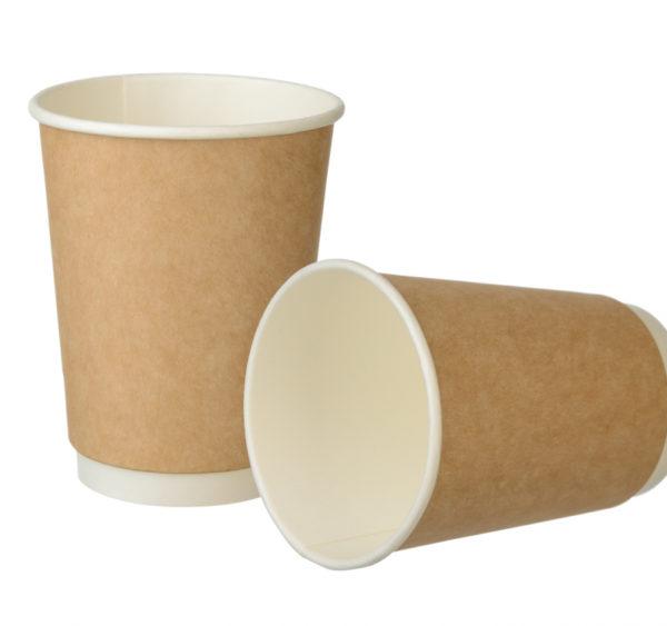 Čaša papirnata 300 ml d=90 mm 2-slojna Complement  kraft (20 kom/pak)