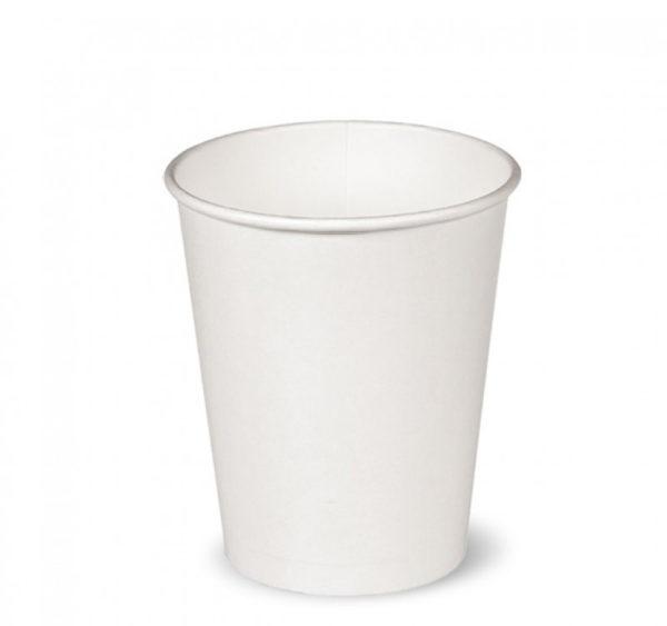Čaša papirnata 250 ml d=80 mm bijela (50 kom/pak)