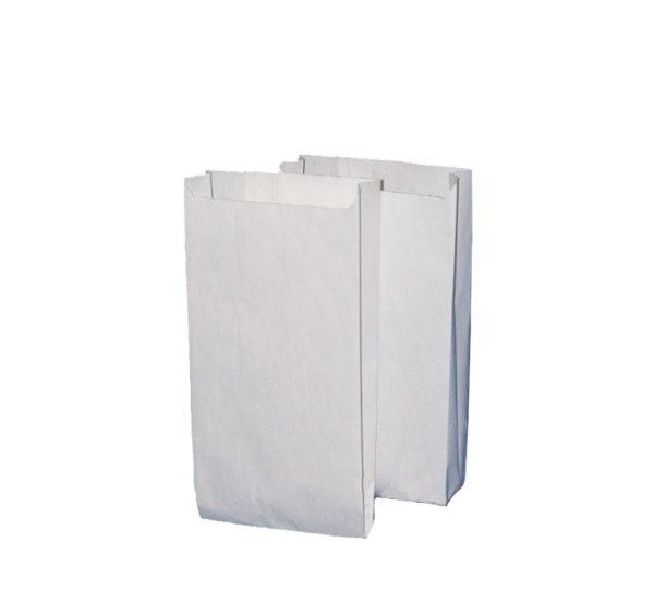 Papirtana vrećica 140х60х290mm bijela (2000 kom/pak)