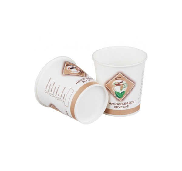 Čaša papirnata 100 ml d=62mm 1-slojna Coffee/čaj (25 kom/pak)