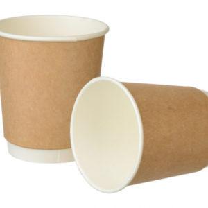 Čaša papirnata 250 ml d=80 mm 2-slojna Complement  kraft