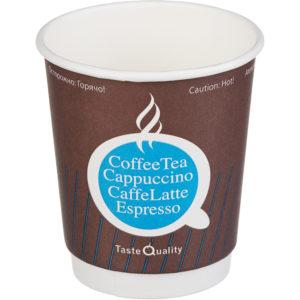 Čaša papirnata 250 ml d=80 mm 2-slojna TQ (25 kom/pak)